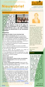 InRIO nieuwsbrief juni 2009