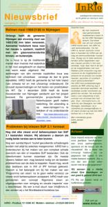 InRIO nieuwsbrief december 2009